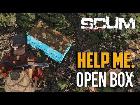Scum : How to Open Wooden Box / Crate and Store Loot