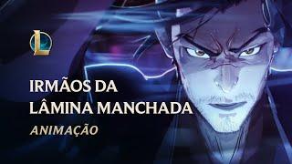 Irmãos da Lâmina Manchada   Animação Florescer Espiritual 2020 - League of Legends