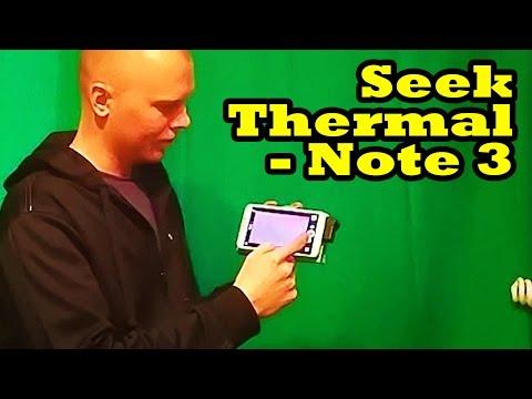 Seek Thermal Running on Note 3