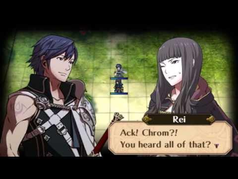 Fire Emblem: Awakening DLC - Chrom and Female Avatar (Spouse) Conversations