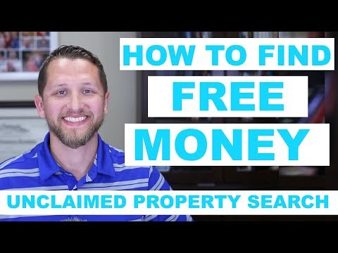 🤑 HOW TO FIND FREE MONEY Unclaimed Property Search 🤑