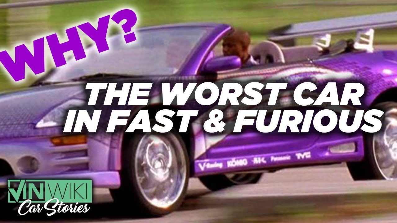 Who let a Mitsubishi Eclipse become the Fast & Furious hero car?
