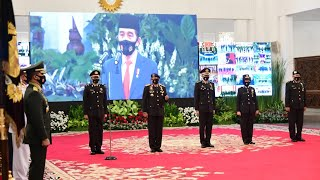 LIVE: Peringatan ke-74 Hari Bhayangkara, Istana Negara, 1 Juli 2020