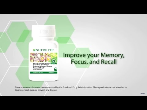 Improve Memory with Nutrilite Memory Builder Supplement | Amway