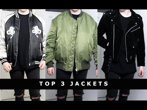 My Top 3 Jackets | Oversized, Clean, Minimal, Mens Fashion | Gallucks