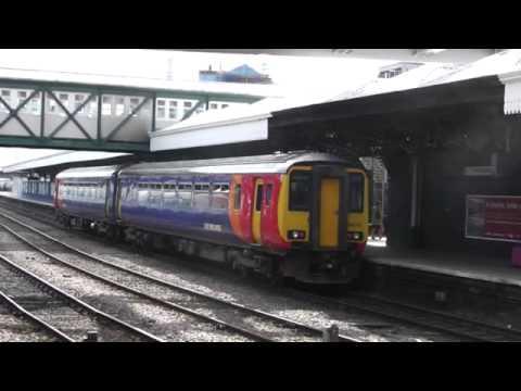 Train ride, Derby, Long Eaton, Nottingham
