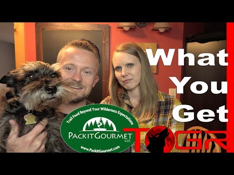 What Do You Get for $106 - Packit Gourmet Deluxe Meal Sampler