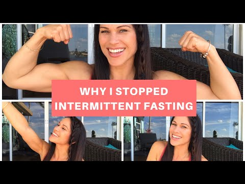 Why I stopped Intermittent Fasting & Why I'll Never Diet Again
