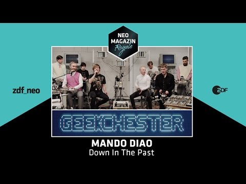Mando Diao feat. Geekchester | NEO MAGAZIN ROYALE mit Jan Böhmermann - ZDFneo