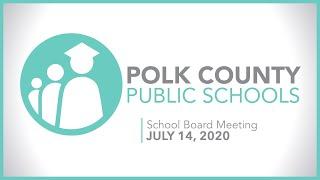 School Board Meeting | July 14, 2020