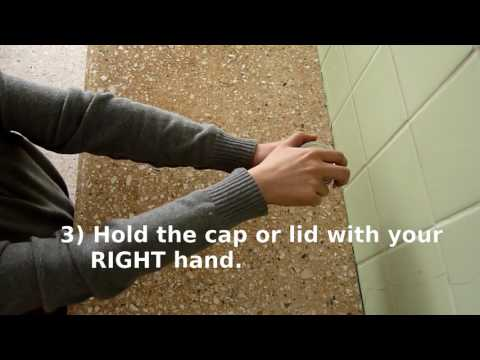 How to open a stuck jar lid or cap: Using the arms