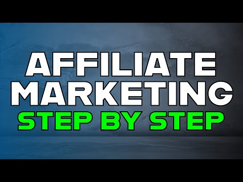 Learn Affiliate Marketing Step by Step -  Clickbank and Weebly Tutorial