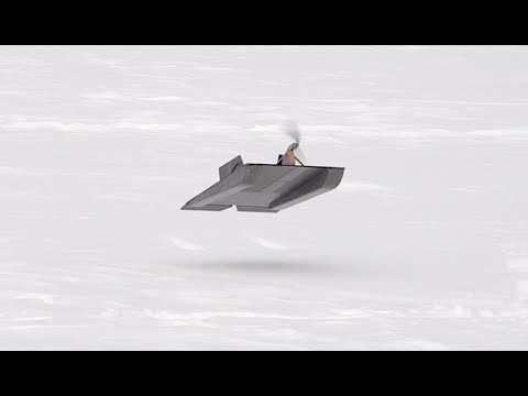 RC Flying Sled - RCTESTFLIGHT -