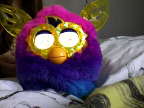 Furby boom!  How to change your furby into a girl