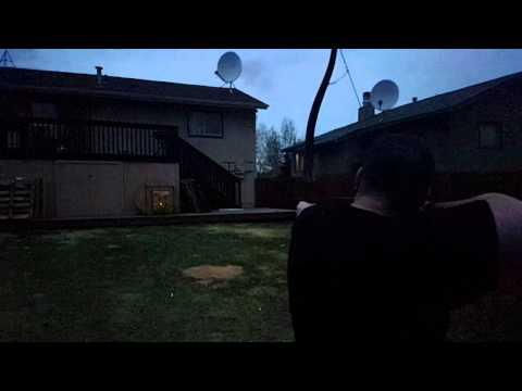 Tracer Arrows (Lighted Nocks) at Midnight
