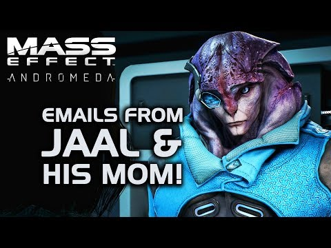 Mass Effect Andromeda - After Sex emails from Jaal & HIS MOM!