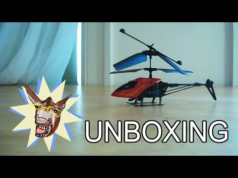 UNBOXING \ 901 Mingji Cheap Remote Controlled Helicopter