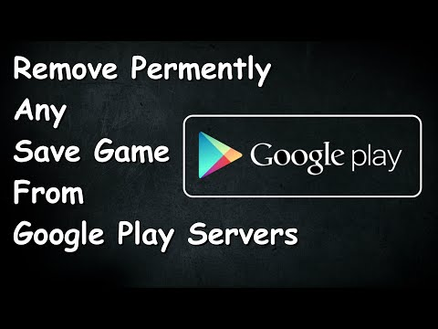 HOW TO DELETE ANY GAME SAVE FROM GOOGLE PLAY SERVERS | ANDROID (2017)