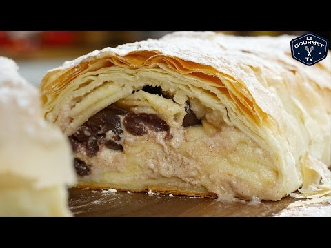 Cherry Apple and Ricotta Strudel || Le Gourmet TV Recipes