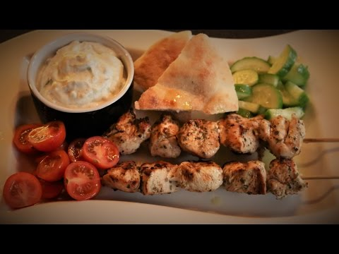 How To Make The Best Chicken Souvlaki - σουβλάκι