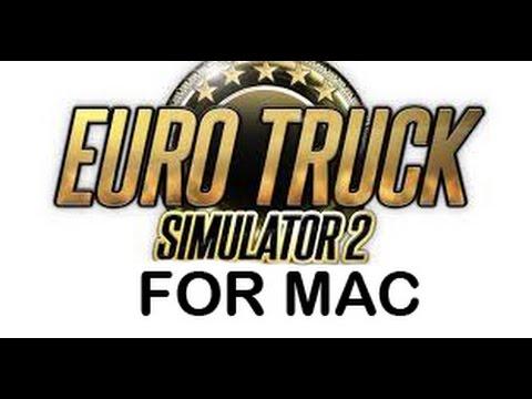 Euro Truck Simulator 2 for Mac+how to install mods (steam ver)