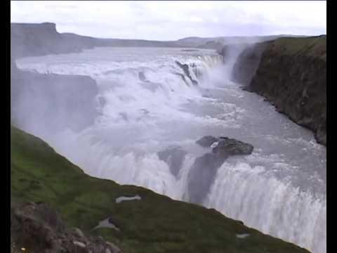 Gullfoss - Golden Waterfall, Iceland