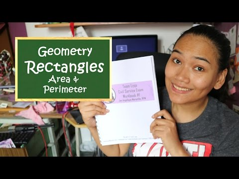 Area and Perimeter of Rectangles - Geometry - Free Civil Service Review