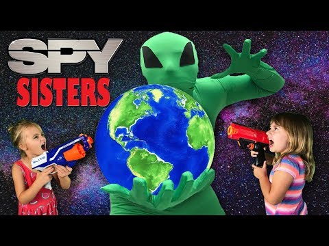 The SPY SISTERS - (ep.2 ALIEN INVASION!!)
