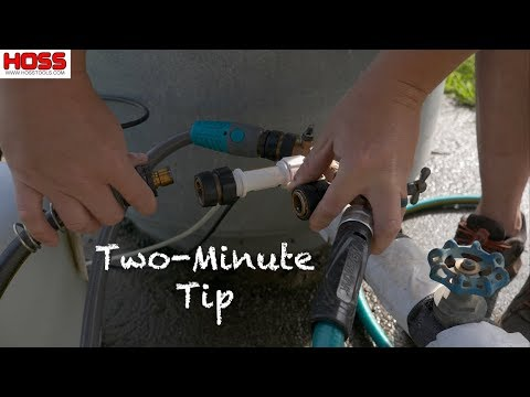 How to Easily Change Water Hoses and Sprinkler Nozzles