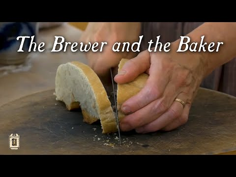 Making Bread From Barm At Genesee Country Village