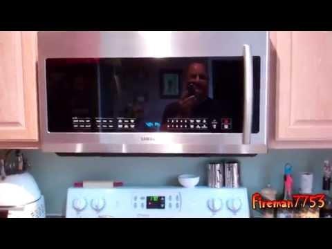 New Samsung Above Range Microwave
