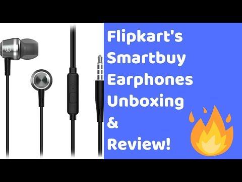 Flipkart Smartbuy Earphones | Unboxing, Review & Giveaway | Hindi