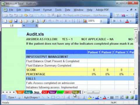 Working with Microsoft Excel Templates
