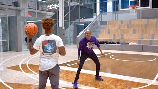 PLAYING 1ON1 BASKETBALL vs. LEBRON AT NIKE HEADQUARTERS! (I GOT FREE SHOES)