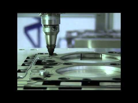 Laser-cutting metal gaskets