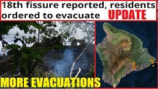 HAWAII UPDATE! 18th fissure Volcano on verge of MAJOR Eruption!