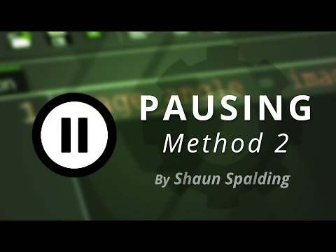 GameMaker - Pause Menu Tutorial (Method 2)