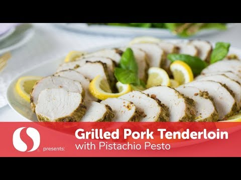 Grilled Pork Tenderloin with Pistachio Pesto | Easter on the Grill | Safeway