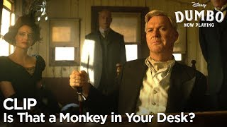 """""""Is That a Monkey in Your Desk?"""" Clip 