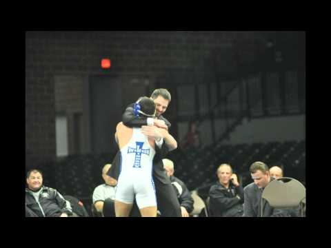 Corey Ruff, Charlie Pingleton at NAIA Wrestling Championship