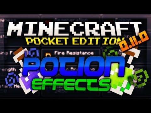Minecraft Pocket Edition 0.11.0! Potion Effects! (Pocketmine Servers)