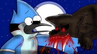 """Mordecai & Rigby turn into Werewolves! (Part 1) """"Regular Show"""""""