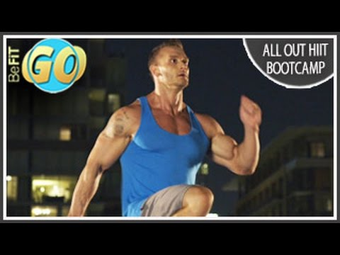 All Out HIIT Bootcamp Workout: 10 Mins- BeFiT GO