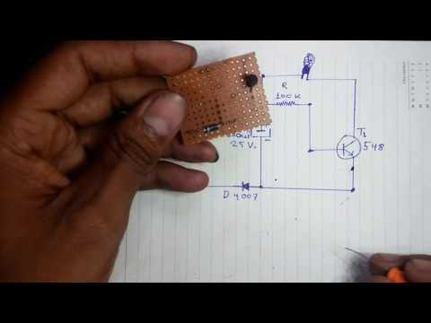 how to make simple electronic buzzer in hindi