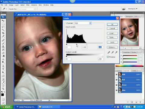 Photoshop CS3 Basic Image Correction and Editing Part 1