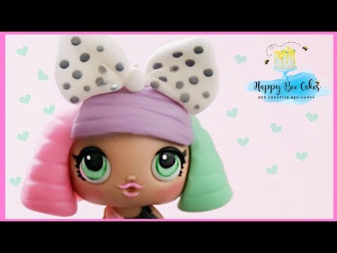 How to make an LOL surprise doll cake topper tutorial! Kids cakes