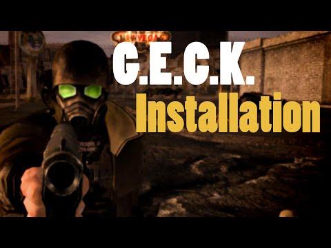 G.E.C.K. - Fallout New Vegas Part 1 : Installation