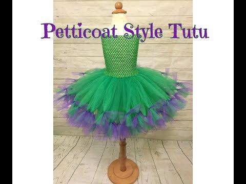 Petticoat Style Tutu DIY