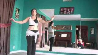 3/4 Shimmy On The Up  - Daily Bellydance Quickies