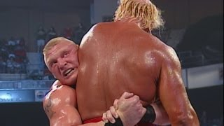Brock Lesnar Vs Hulk Hogan Smackdown August 8 2002